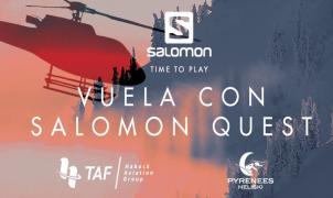 Vuela y disfruta de la experiencia única del heliski con Salomon Quest