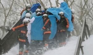 Ocho adolescentes japoneses habrían fallecido por una avalancha de nieve en Japón