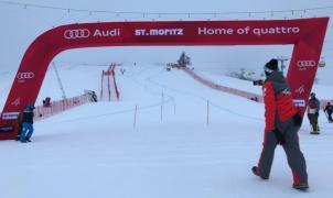 Se cancela el Super-G y la combinada de St.Moritz en un fin de semana para olvidar