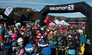 Se celebra un Salomon Quest Challenge de récord en Masella