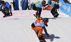 Eguibar y Terés ganan los Campeonatos de España Absolutos de Snowboardcross en Baqueira Beret