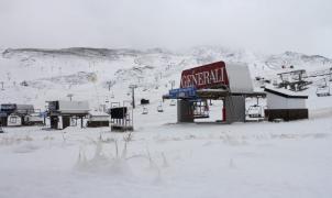 Imágenes de la primera nevada en Sierra Nevada