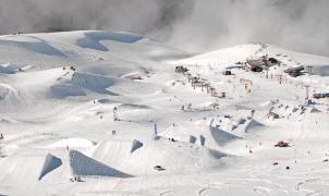 Sierra Nevada incluye plataformas de tierra en la línea de slopestyle del Mundial 2017