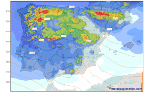 Avance Meteo: Llegan 3 días de nevadas en todas las montañas de la Península