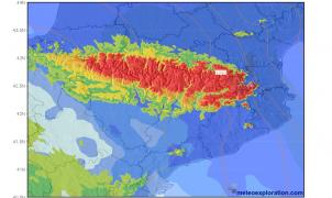 Avance METEO: El invierno vuelve, bajan las temperaturas y llegan nevadas