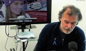 Lugares de Nieve entrevista en exclusiva desde España a Tina Maze para la cadena Eurosport