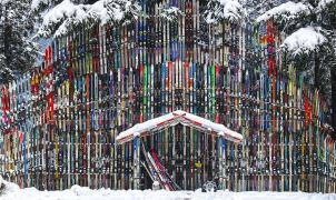 El Templo del Esquí existe y está en Juneau (Alaska)