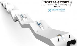 El Grandvalira Total Fight 2017 estrenará un nuevo y espectacular circuito de Slopestyle