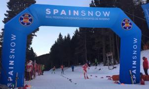 Gran nivel y mucha nieve en los Campeonatos de España de esquí de Fondo en Tuixent–La Vansa