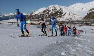 La disputa del Kilómetro Vertical en el Arán cerró el telón de la Copa del Mundo de Skimo