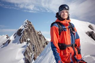 Snowboard freeride en N.Z