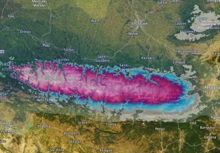 Especial nevadas martes/miércoles: Hasta medio metro de nieve en Baqueira