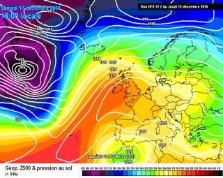 Previsión Meteo: Un Temporal de nieve azotará el Sureste de la Península Ibérica