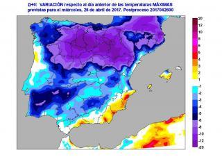 Alerta Meteo! Llegan 36 horas de crudo invierno con nevadas abundantes