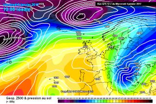 Previsión Meteo Reyes: Buen tiempo a la espera de nevadas el martes en el Norte de la Península