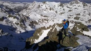 El esquí de montaña con seguridad, en Grandvalira
