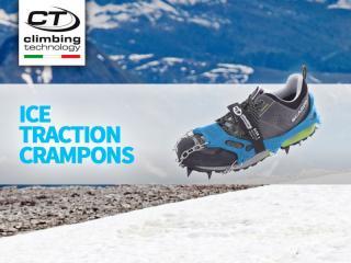 Nuevos crampones ice traction de Climbing Technology