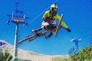Las estaciones de esquí apuran el verano ofreciendo activades para todos