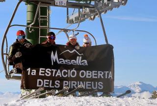 Masella primera estación en abrir la temporada de invierno 2016-17