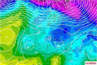 Previsión Meteo Fin de semana: Nueva borrasca en el centro y sur, nevada en Sierra Nevada