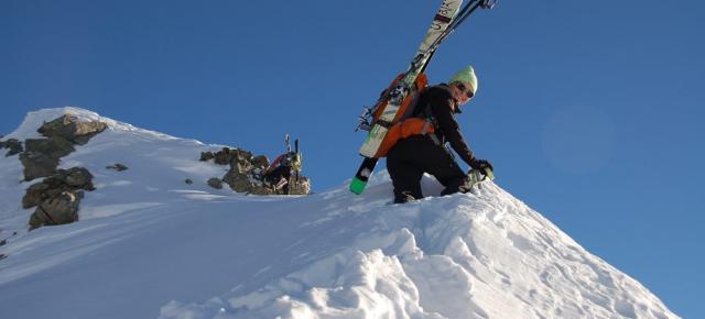 Esquí de montaña en el Valle de Aosta