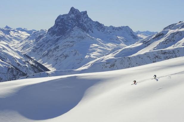 Nieve en St. Anton