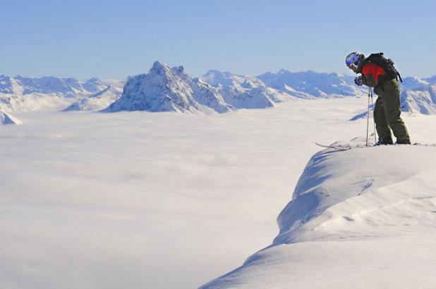 Esquiador en St. Anton