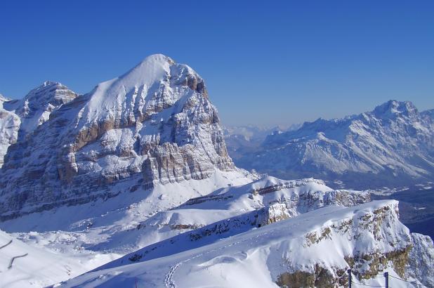 Panorámica de los Dolomitas
