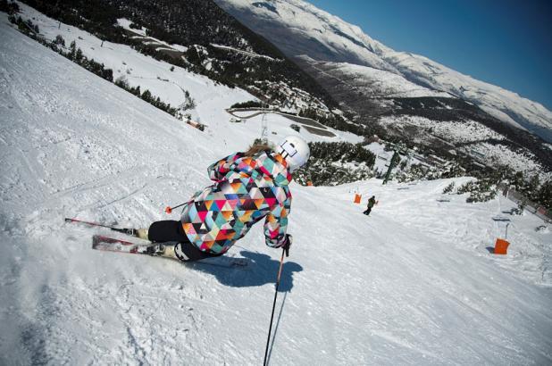 Imagen de la estación de esquí de La Molina Pista Llarga