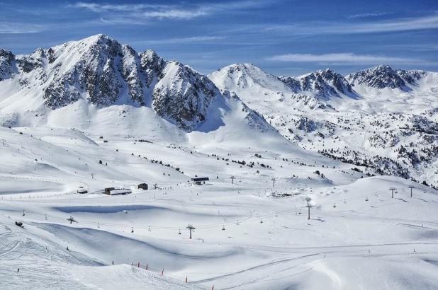 Estación de esquí de Grandvalira zona Grau Roig
