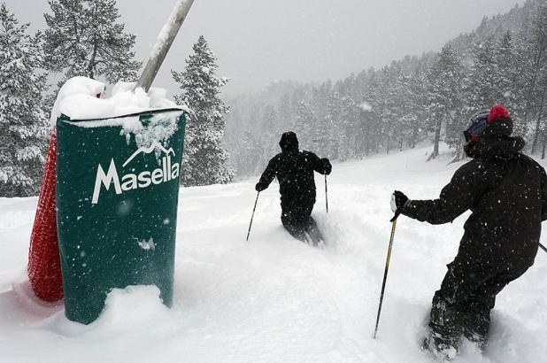 Masella, nevada de enero 2017