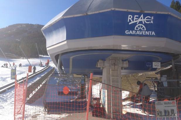 Imagen de la estación de esquí de Port del Comte en el Pirineo catalan