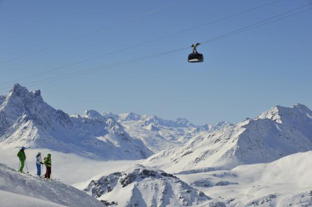 Imagen de la estación de esquí de Sant Anton