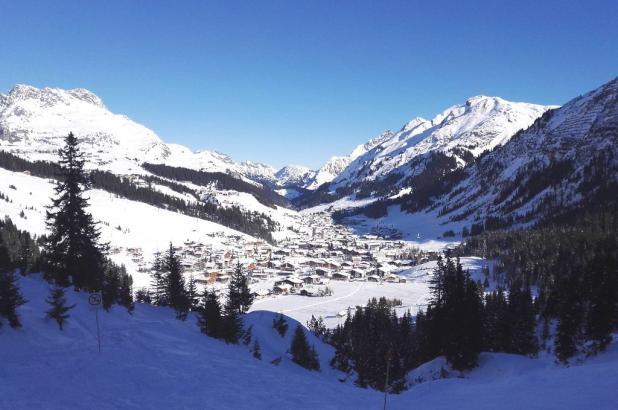St. Anton am Arlberg. Enero de 2017. Foto Robertus Mylonas