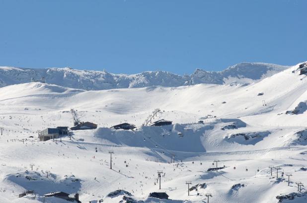 Sierra Nevada en pleno invierno
