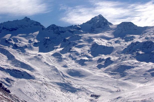 Pistas de la estación de esquí de Val Thorens