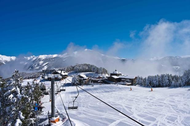 Imagen de la estación de esquí de Vallnord en Andorra