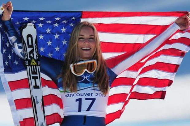 Lindsey Vonn participara en los Juegos Olimpicos de Invierno con España