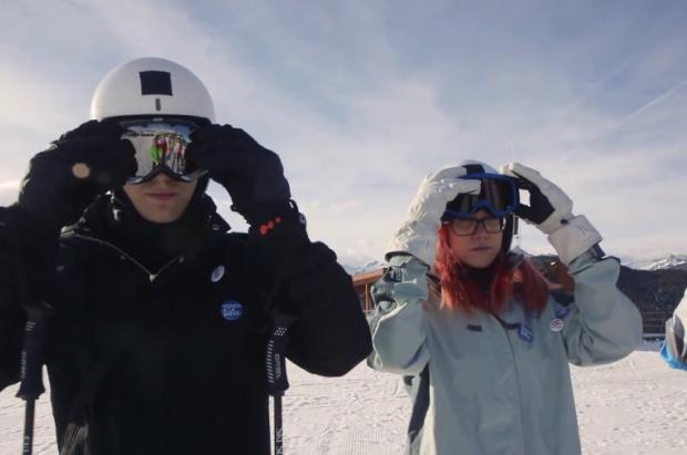 ATUDEM lanza tutoriales para enseñar a esquiar y un concurso para esquiar gratis en sus estaciones