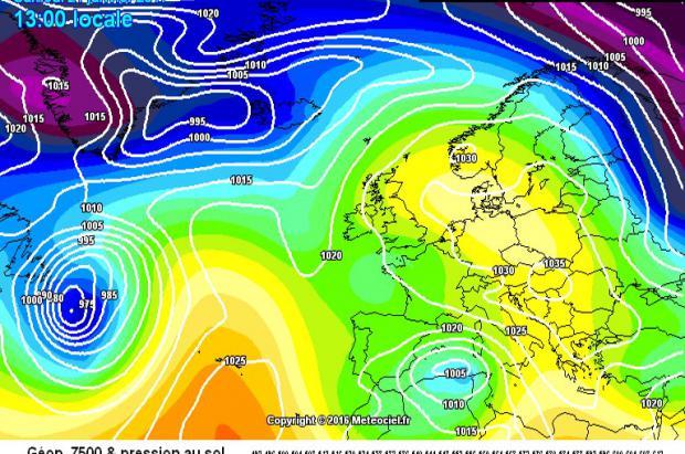 Previsión Meteo Fin de semana: Una Borrasca Mediterránea dejará nevadas de hasta 50 cm