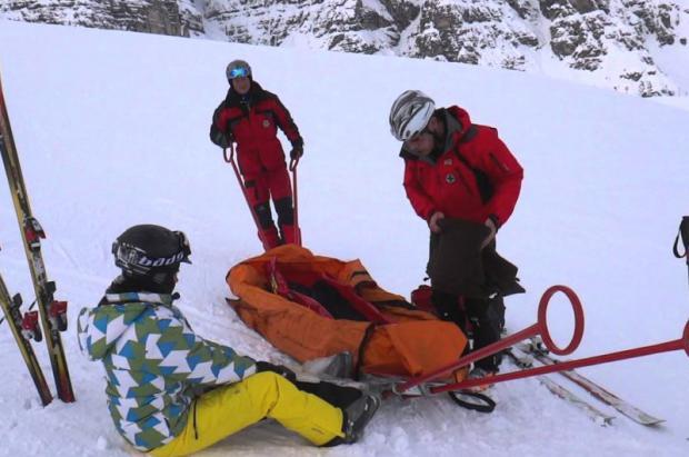 Un esquiador choca de forma violenta con un ciervo en las pistas de Baqueira Beret