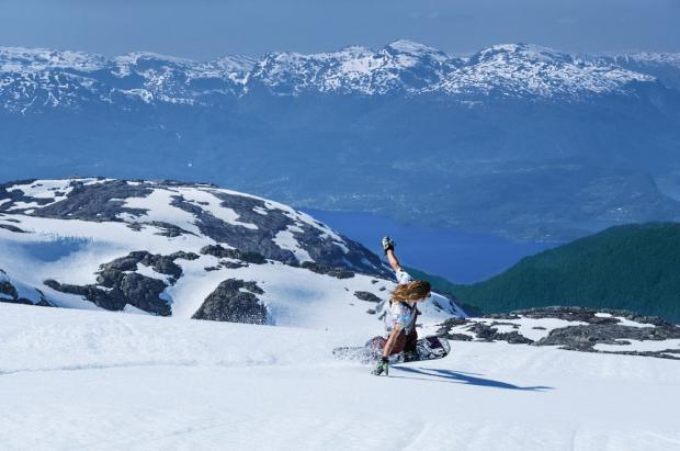 Esquí de verano en Noruega: Folgefonna summer ski and snowboard