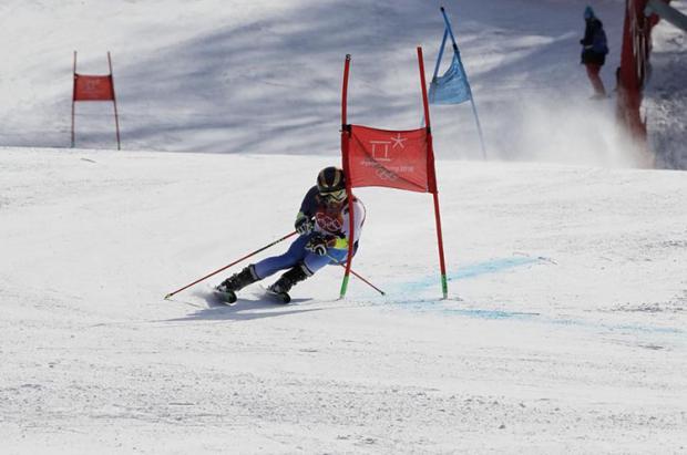 El español Juan del Campo debuta sin suerte en el gigante de PyeongChang