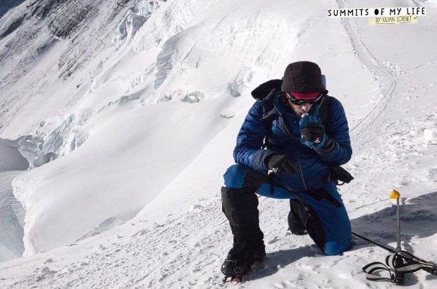 Kilian Jornet ha hecho cumbre del Everest y se encuentra en el Campo Base Avanzado (6.500 m)