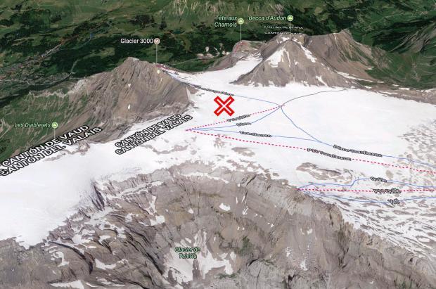 Encuentran a una pareja suiza desaparecida hace 75 años en un glaciar suizo