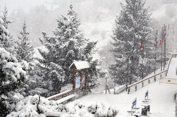 Primeras imágenes de la intensa nevada en Baqueira Beret, preludio del World Snow Day