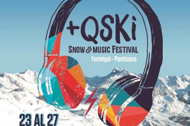 El festival +QSKI de Aramón Formigal-Panticosa (23-27 enero) calienta motores
