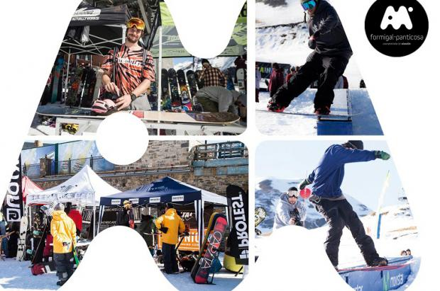 Se celebra el World Snowboard Day en Aramón Formigal-Panticosa