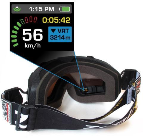 MASCARA ZEAL Z3 GPS, DE 600 A 240€
