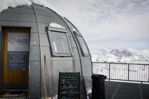 Disfruta de la fondue a mayor altitud de Europa